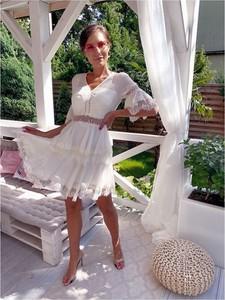 Sukienka Hollywood Dream mini z długim rękawem