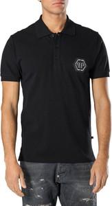 Koszulka polo Philipp Plein w stylu casual z krótkim rękawem
