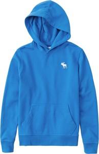 Niebieska bluza dziecięca Abercrombie & Fitch