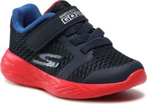 Buty sportowe dziecięce Skechers dla chłopców na rzepy