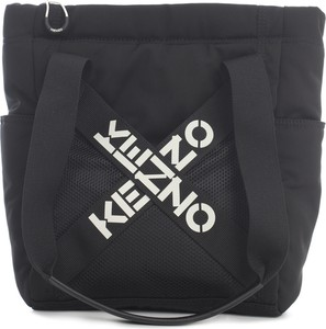 Czarna torebka Kenzo na ramię