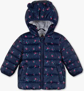 Niebieska kurtka dziecięca Baby Club dla dziewczynek