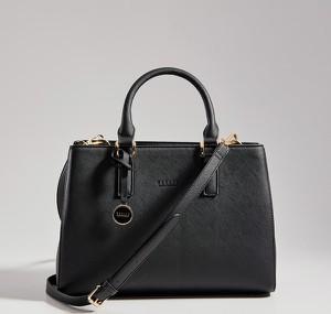 Czarna torebka Mohito matowa do ręki średnia