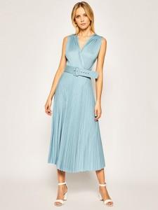 Sukienka Marella bez rękawów z dekoltem w kształcie litery v maxi