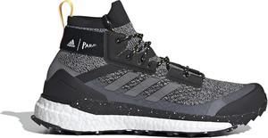 Buty sportowe Adidas z płaską podeszwą terrex sznurowane