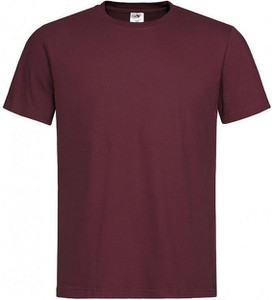 T-shirt Stedman z bawełny z krótkim rękawem