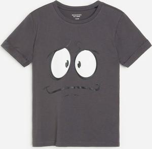 Koszulka dziecięca Reserved dla chłopców z bawełny z krótkim rękawem