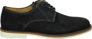 Czarne półbuty Gant sznurowane