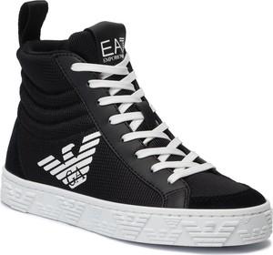 Buty dziecięce zimowe EA7 Emporio Armani