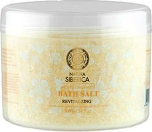 Siberica Professional, Revitalizing Bath Salt, odżywcza sól do kąpieli, 600g