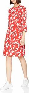 Sukienka amazon.de z długim rękawem z okrągłym dekoltem