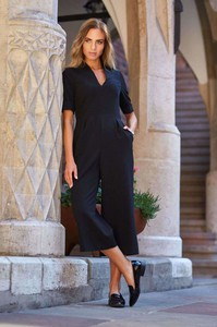 Kombinezon Style z długimi nogawkami w stylu klasycznym