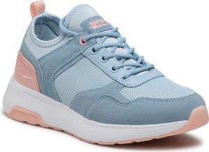 Niebieskie buty sportowe Sprandi