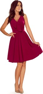 Sukienka NUMOCO mini z dekoltem w kształcie litery v