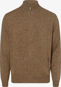 Sweter Andrew James ze stójką z wełny