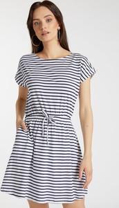 Sukienka FEMESTAGE Eva Minge mini w stylu casual z krótkim rękawem