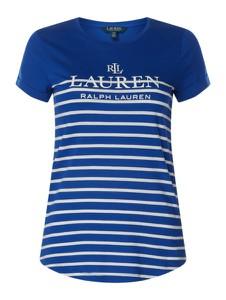 Bluzka Ralph Lauren z bawełny z okrągłym dekoltem