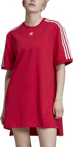 Czerwona sukienka Adidas sportowa
