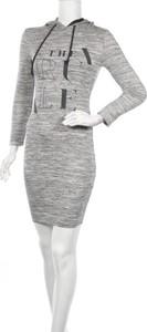 Sukienka Fb Sister z długim rękawem