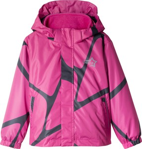 Różowa kurtka dziecięca bonprix bpc bonprix collection