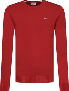 Sweter Tommy Jeans w stylu casual z wełny