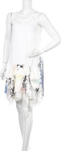 Sukienka La Moda bez rękawów z okrągłym dekoltem mini