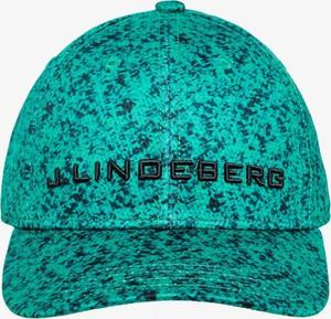 Turkusowa czapka J. Lindeberg