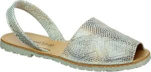 Sandały El Pimpi na średnim obcasie