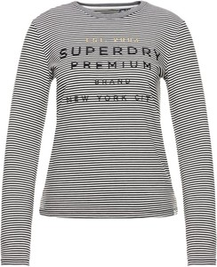 Bluzka Superdry w stylu casual z długim rękawem