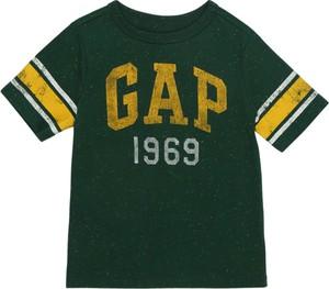 Czarna koszulka dziecięca Gap