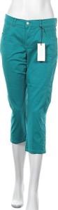 Zielone spodnie Angels ze sztruksu