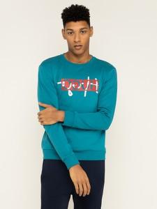 Niebieska bluza Hugo Boss