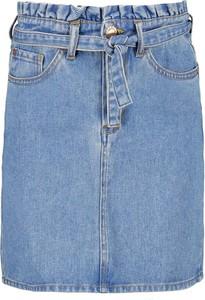 Niebieska spódniczka dziewczęca Garcia z bawełny