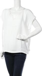 Bluzka comma, z okrągłym dekoltem z krótkim rękawem