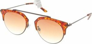 Brązowe okulary damskie Pilgrim