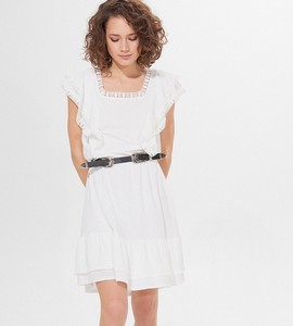 Sukienka Mohito z krótkim rękawem mini w stylu casual