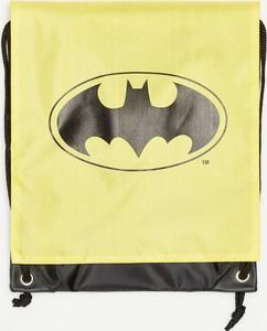 Żółty plecak Sinsay