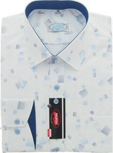 Koszula Marex Łódź z bawełny z długim rękawem
