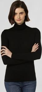 Czarny sweter brookshire z wełny