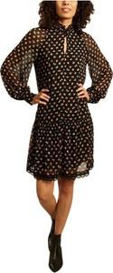 Czarna sukienka SEE BY CHLOE z kołnierzykiem