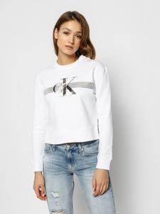 Bluza Calvin Klein w stylu casual krótka