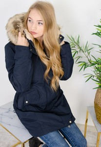 Granatowa kurtka Olika w młodzieżowym stylu