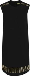 Sukienka Versace Jeans prosta mini bez rękawów