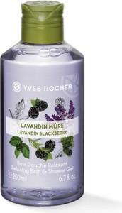 Yves Rocher Relaksujący żel pod prysznic i do kąpieli Lawenda & Jeżyna