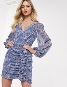 Fioletowa sukienka Forever New