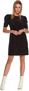Sukienka Top Secret mini w stylu casual koszulowa