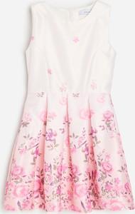 Sukienka dziewczęca Reserved w kwiatki