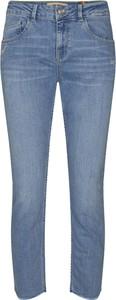 Jeansy Mos Mosh z jeansu w street stylu