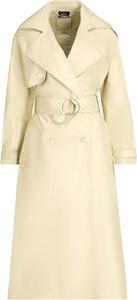 Żółty płaszcz Liu-Jo w stylu casual