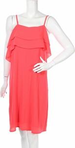 Różowa sukienka Gaudi midi
